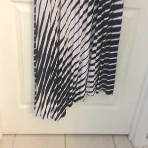 Lane Bryant Dresses - Asymmetrical Dress (18/20) Black and White
